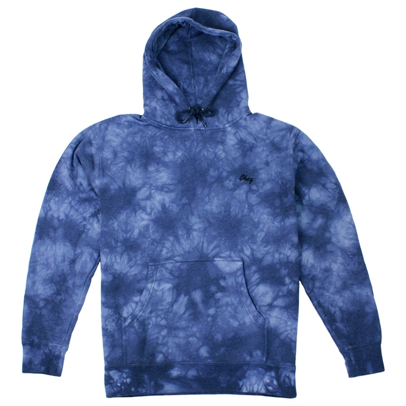 Obey Clothing Haight Hoodie in Navy