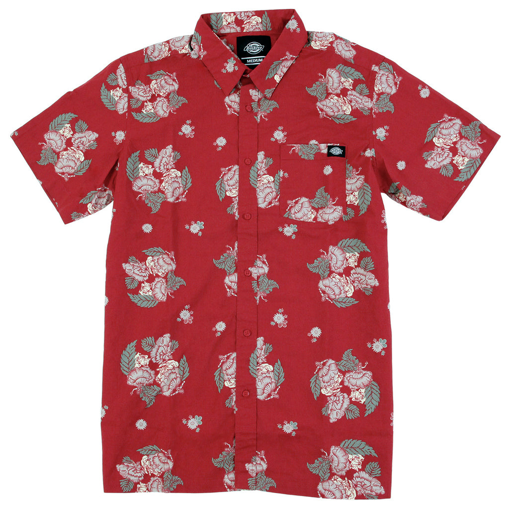 Dickies Mendota Shirt in English Red