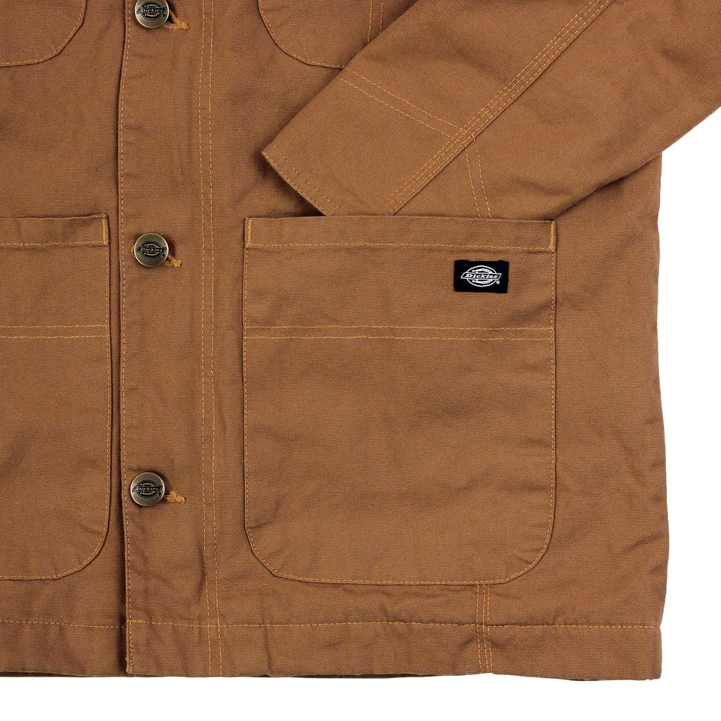 Dickies Thornton Jacket in Brown Duck - Pocket