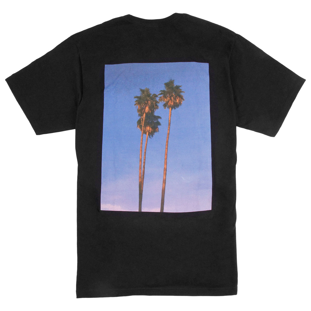Stussy 3 Palms T Shirt in Black - Back print