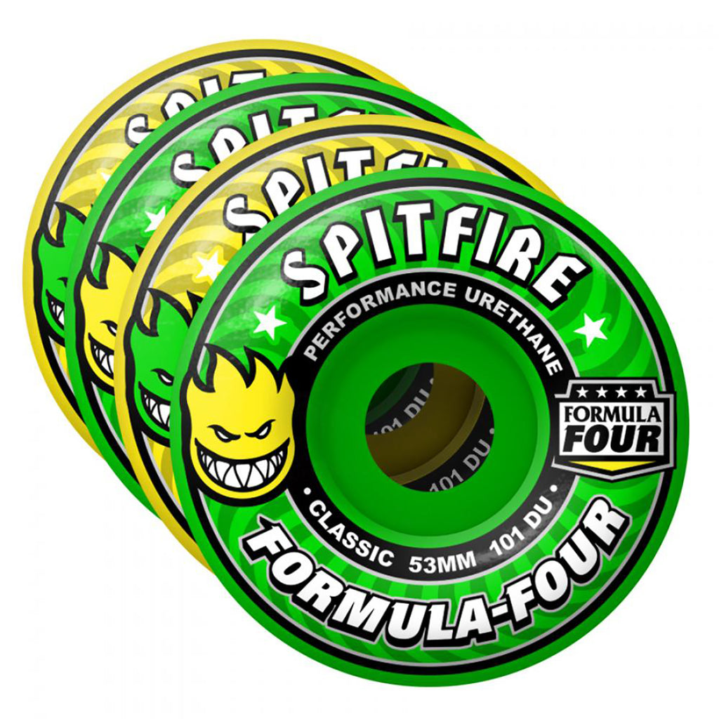 Spitfire Wheels Formula Four Coolaid Mash Up Wheels in Classic Coolade Mash - 3