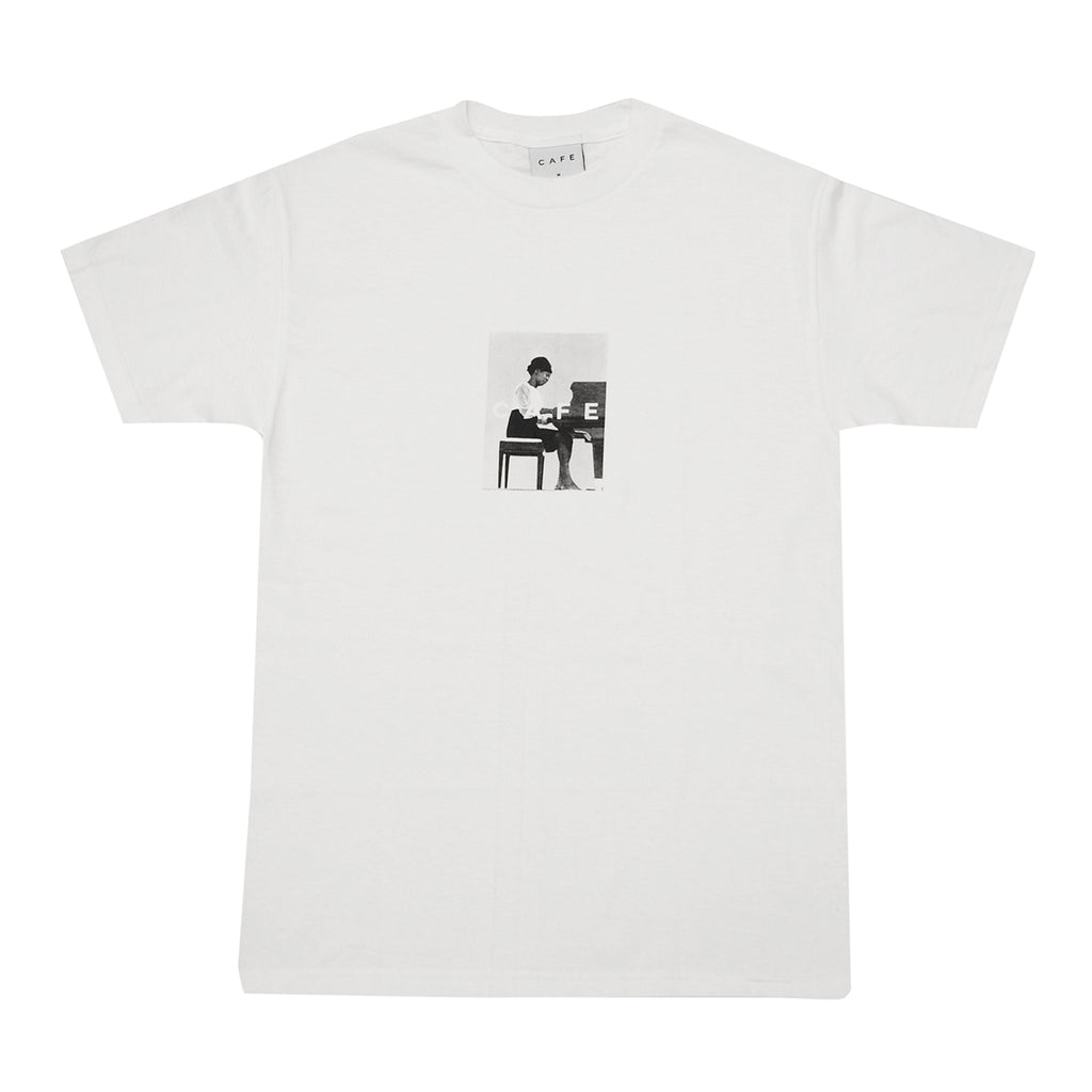 Skateboard Cafe Alice T Shirt in White