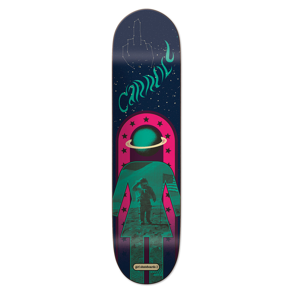 Girl Skateboards Fillmore Mike Carroll Deck in 8.125""
