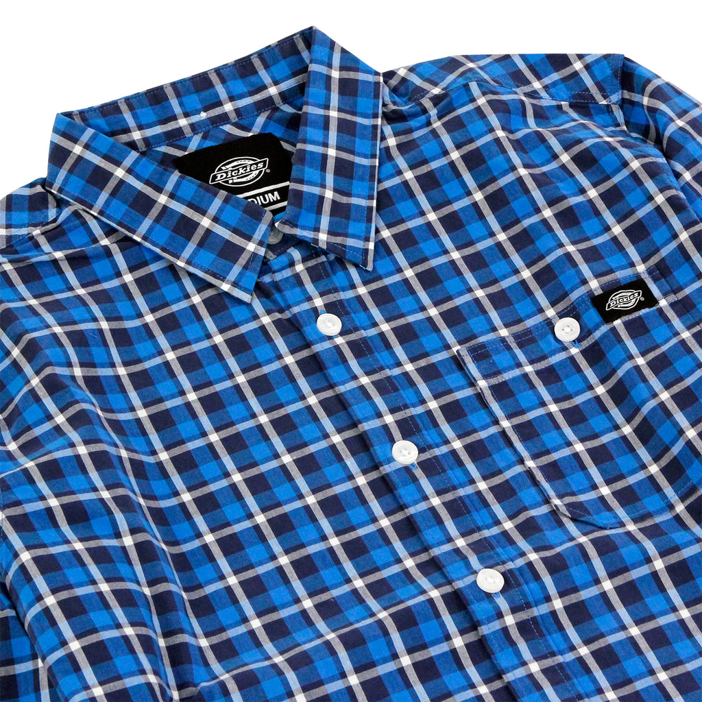Dickies Laytonville Shirt in Blue - Detail