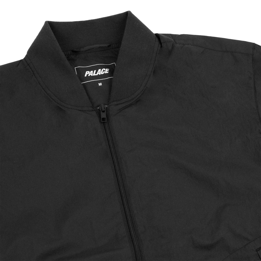 Palace Bomber Jacket in Anthracite - Detail