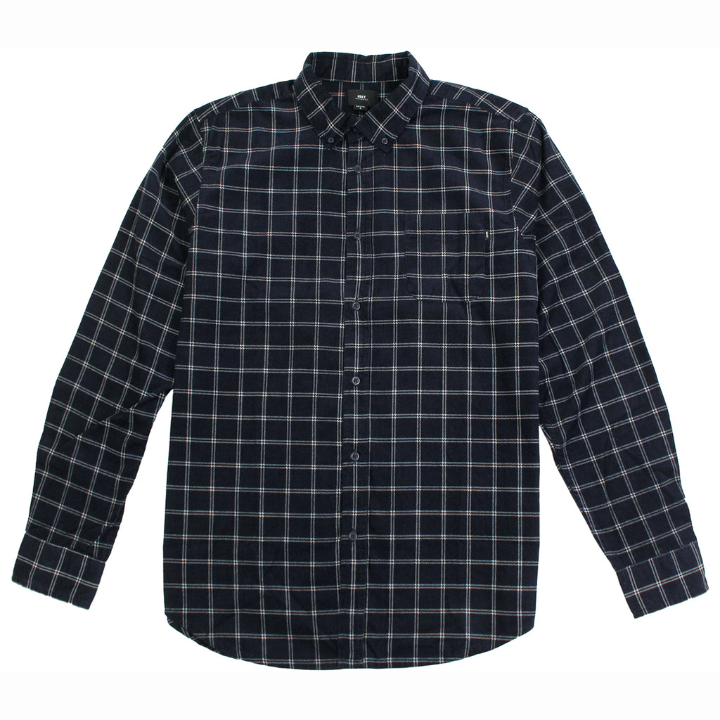 Obey Clothing Halen Woven Shirt in Midnight Multi