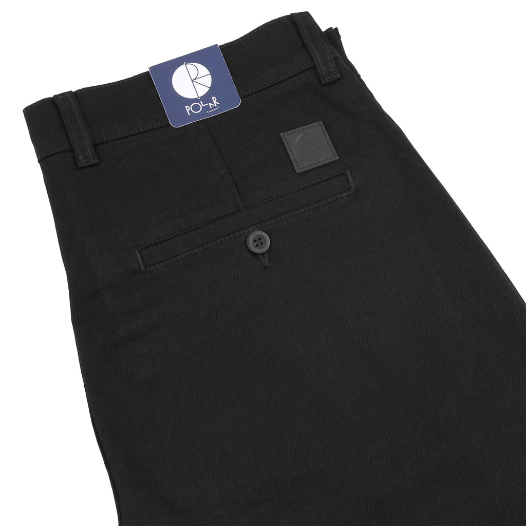 Polar Skate Co Flamingo Chino in Black - Detail