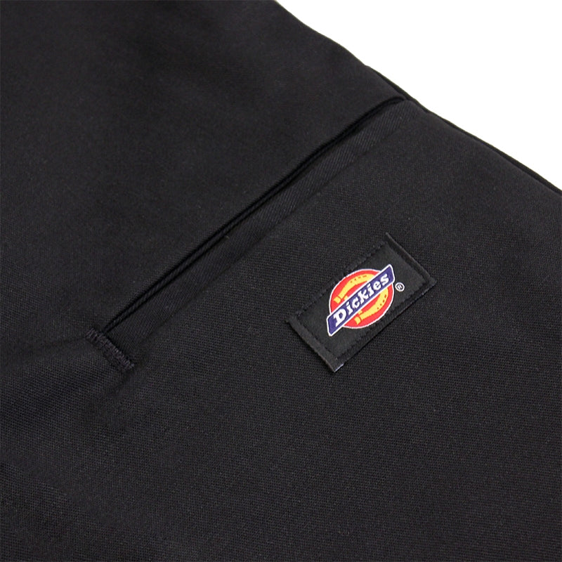 DICKIES SLIM 13 INCH WORK SHORT DARK NAVY - Label