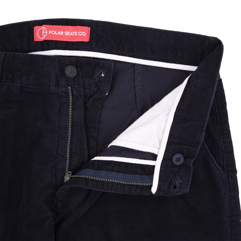 Polar Skate Co Corduroy Pant in Navy - Unzipped