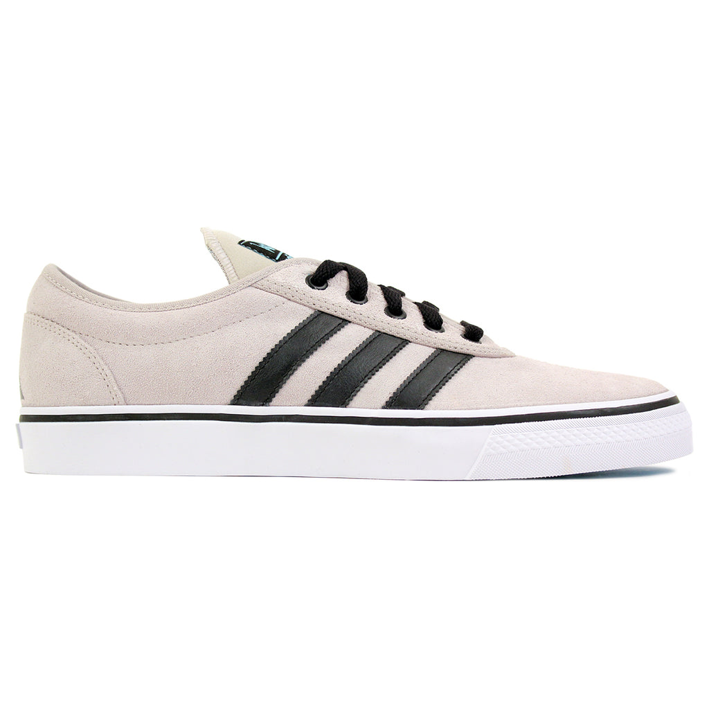 Adidas Skateboarding Adi Ease ADV Shoes in White / Core Black / Light Aqua