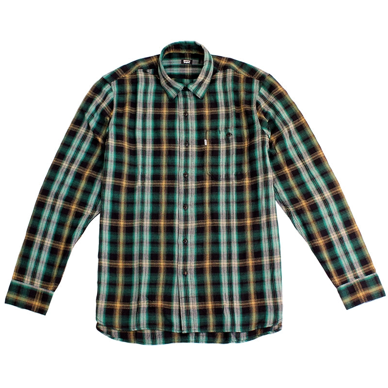 Levi's Skateboarding Collection Maker Shirt in Plaid Verte