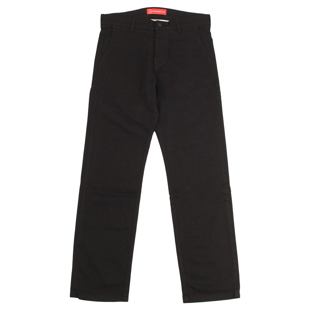 Polar Skate Co Default Chino in Black - Open