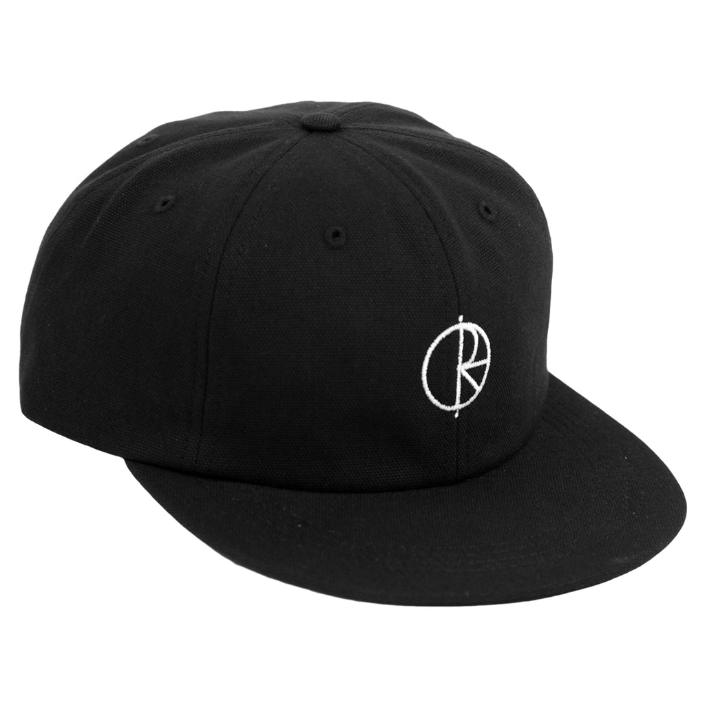 Polar Skate Co Canvas Cap in Black