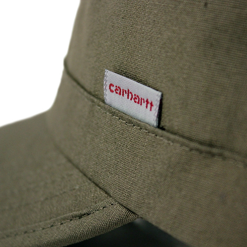 Carhartt WIP Army Cap in Leaf - Label