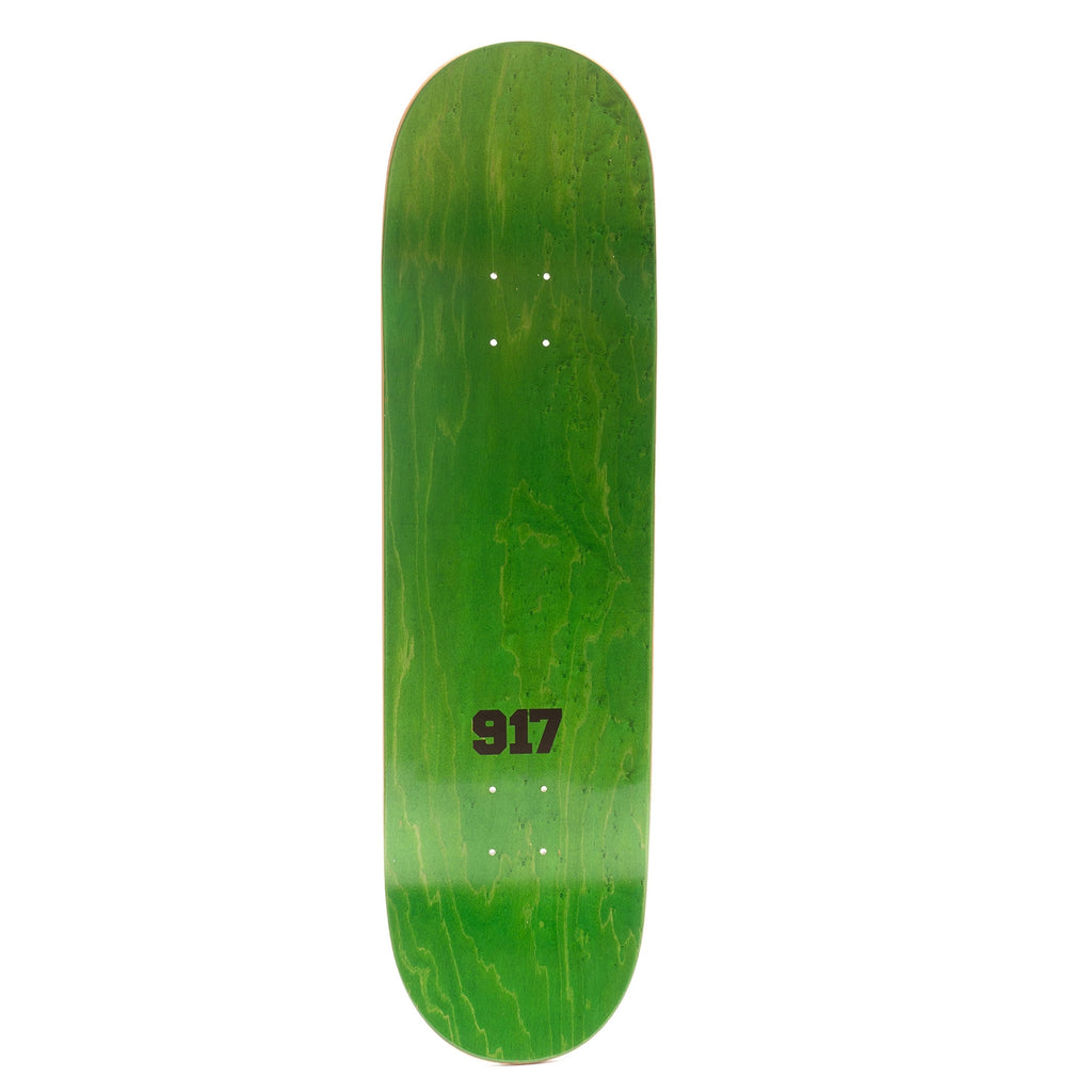 "Call Me 917 Cyrus Bennett Pest Skateboard Deck in 8.5"" - Top"