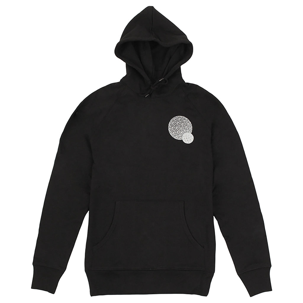Palace If You Ain't There Hoodie in Black - Front