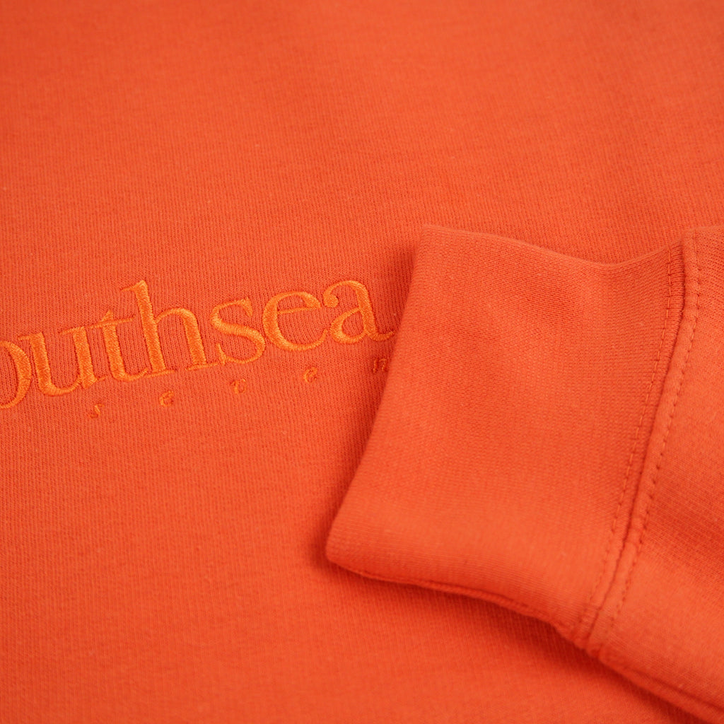 Bored of Southsea Hammer Sweatshirt in Burnt Orange / Burnt Orange - Cuff