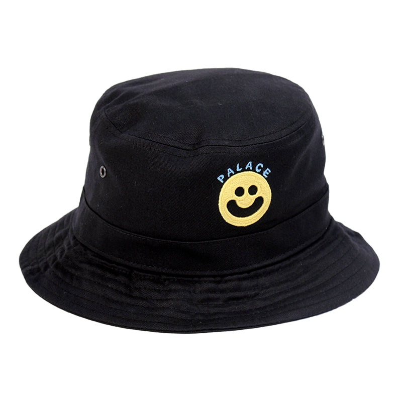 Palace Smiler Bucket Hat in Black