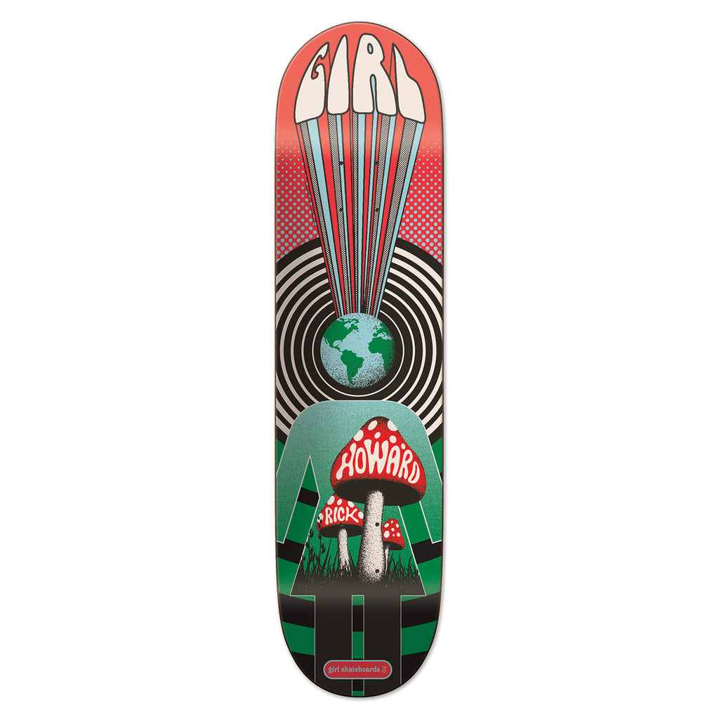 Girl Skateboards Fillmore Rick Howard Deck in 8.375""