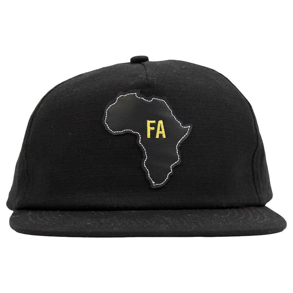 Fucking Awesome Africa Cap in Black - Front