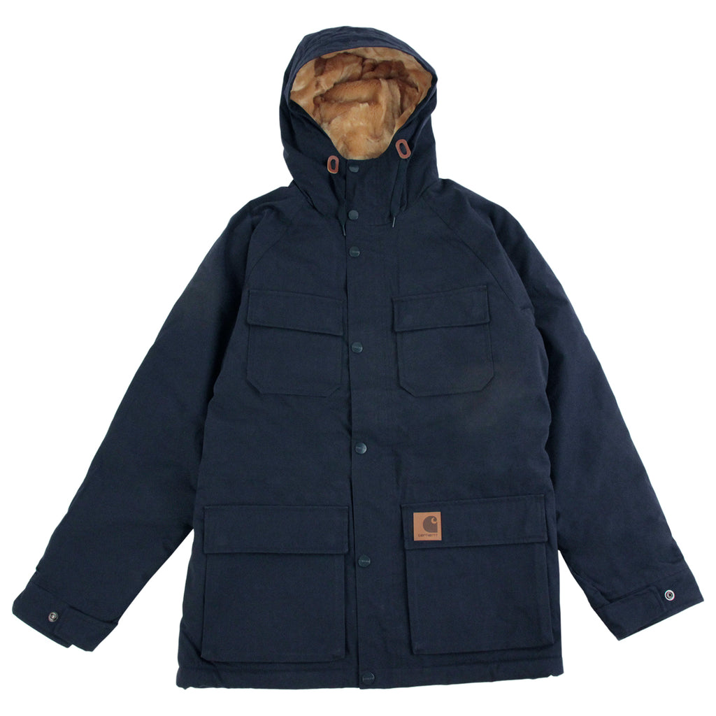 Carhartt Mentley Jacket in Navy