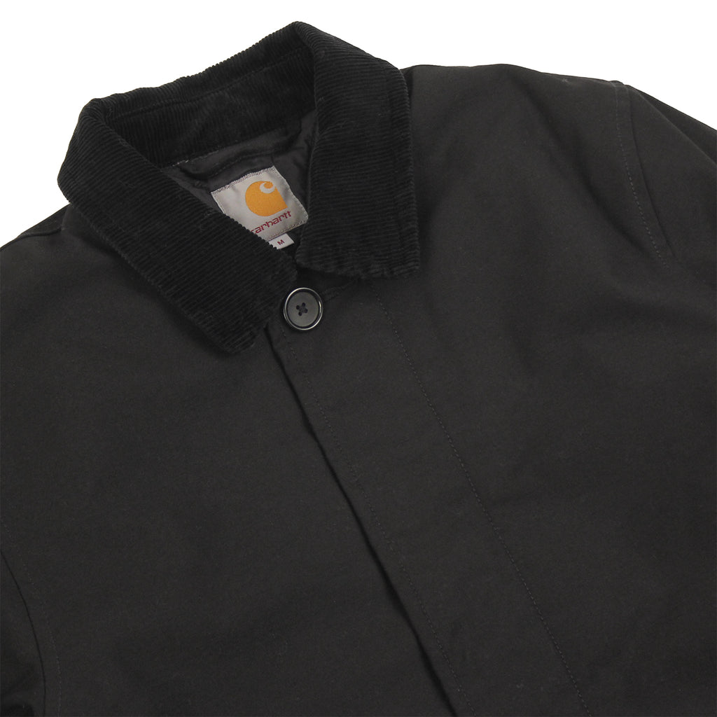 Carhartt Harris Trenchcoat in Black - Detail