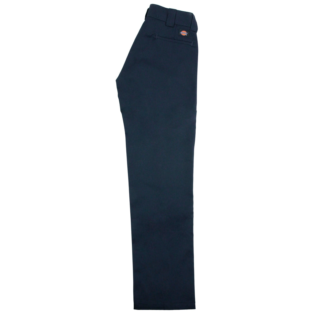 Dickies 873 Slim Straight Work Pant in Navy - Leg