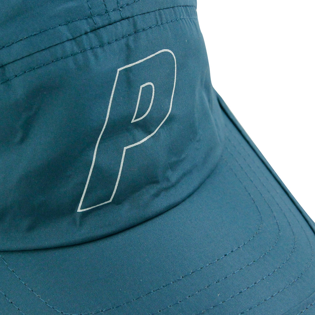 Palace Running Cap in Bottle Green - Print