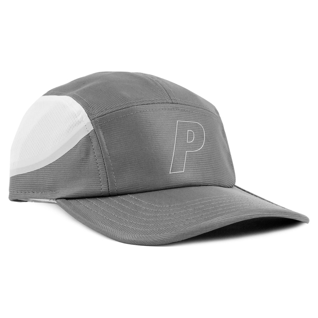Palace 7 Panel Sport Cap in Light Grey