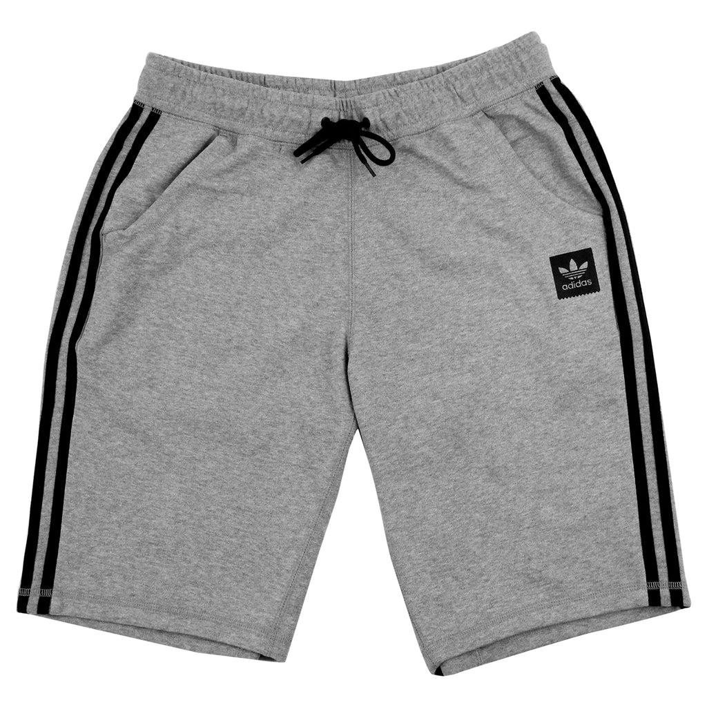 Adidas Skateboarding Clima Knit Shorts in Core Heather