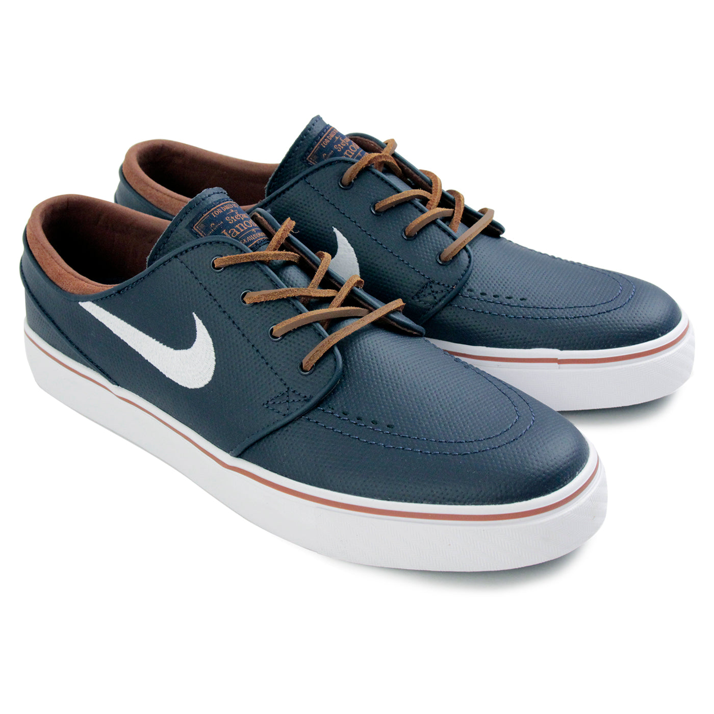 19aebcbb684f Stefan Janoski OG Shoes in Obsidian   White - Rustic - White by Nike ...