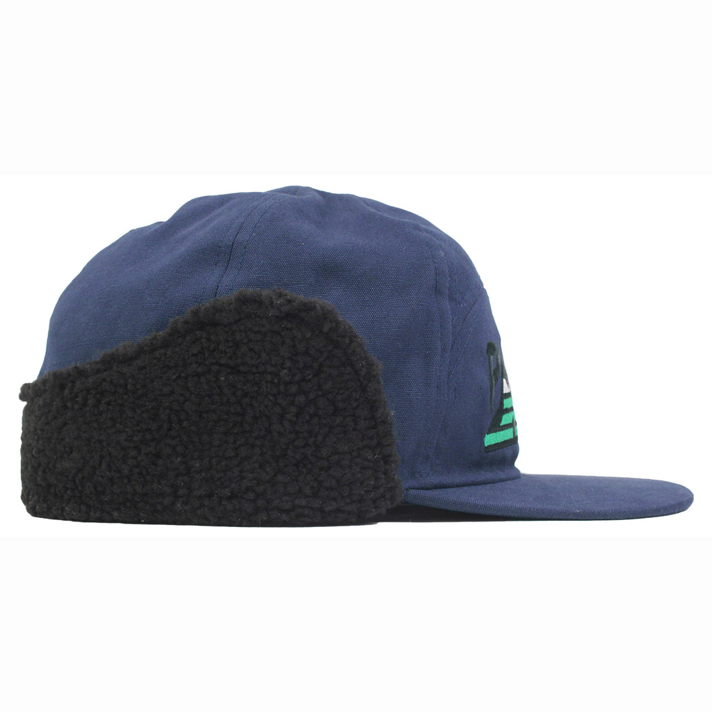 Palace All Terrain Trooper Cap in Navy - Side