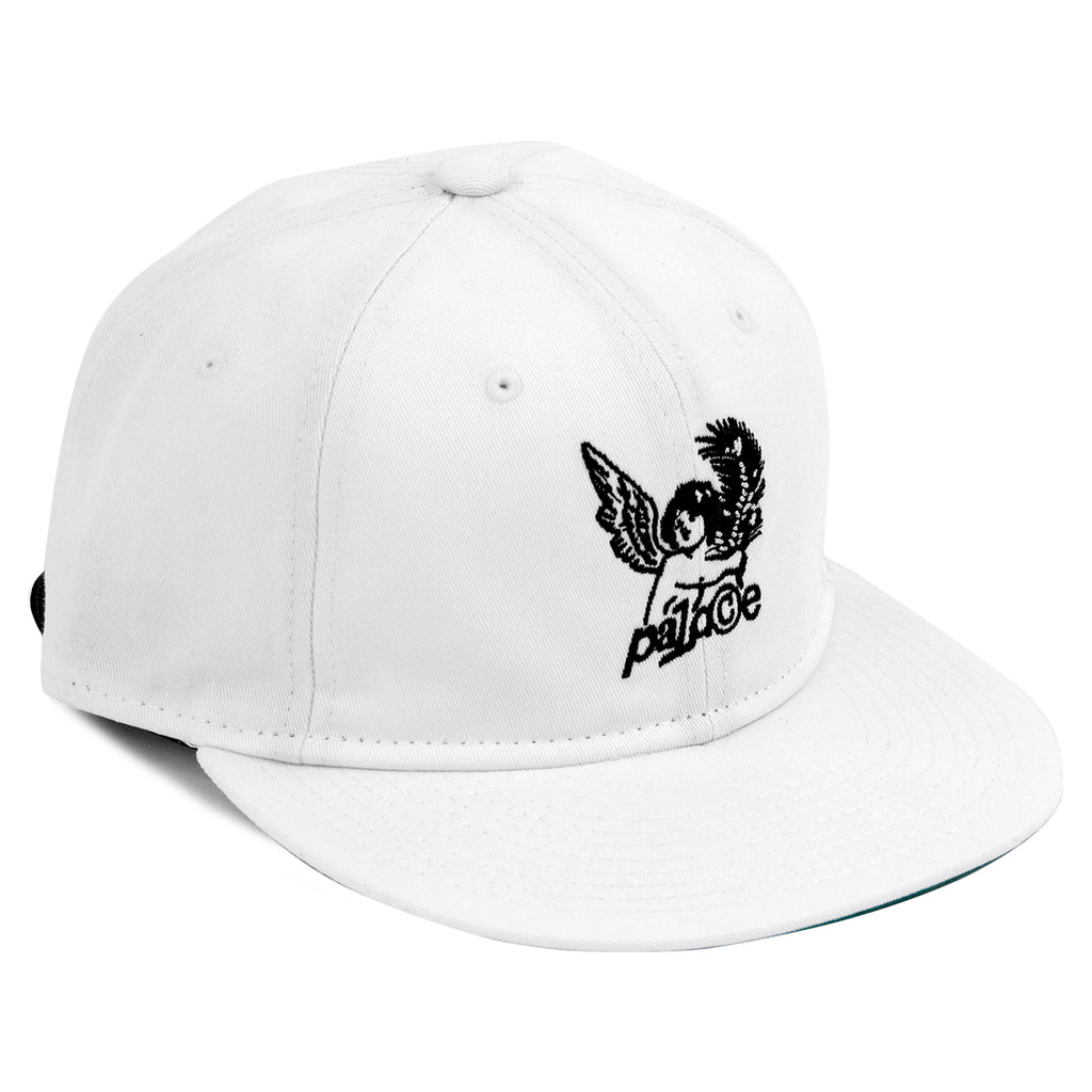 Palace Cherub 6 Panel Cap in White