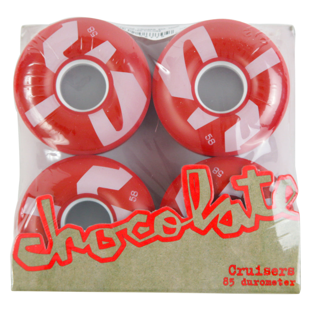 Chocolate Skateboards Big Chunk Cruiser Skateboard Wheels in 58mm