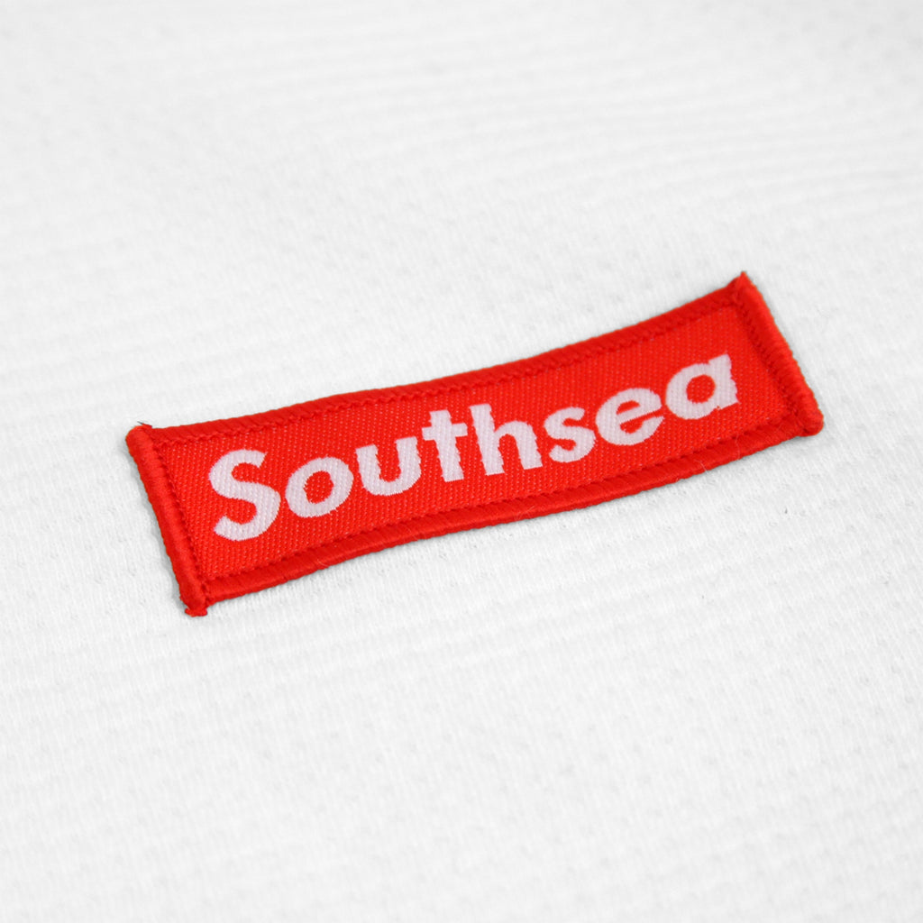 Bored of Southsea x Levis Skateboarding L/S Thermal in White - Patch