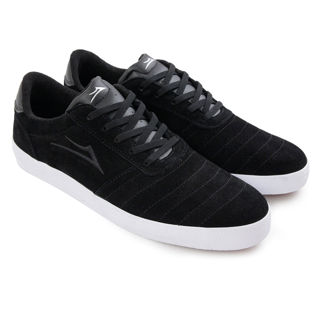 Lakai Anchor Salford Shoes in Black Suede - Pair
