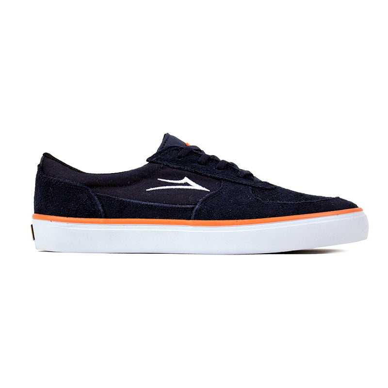 Lakai Parker Anchor in Navy Suede