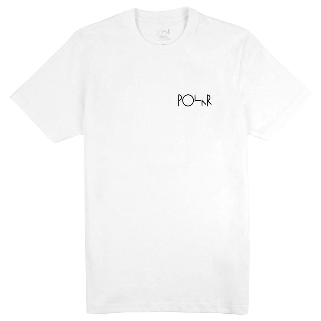 Polar Skate Co AMTK T Shirt in White - Front