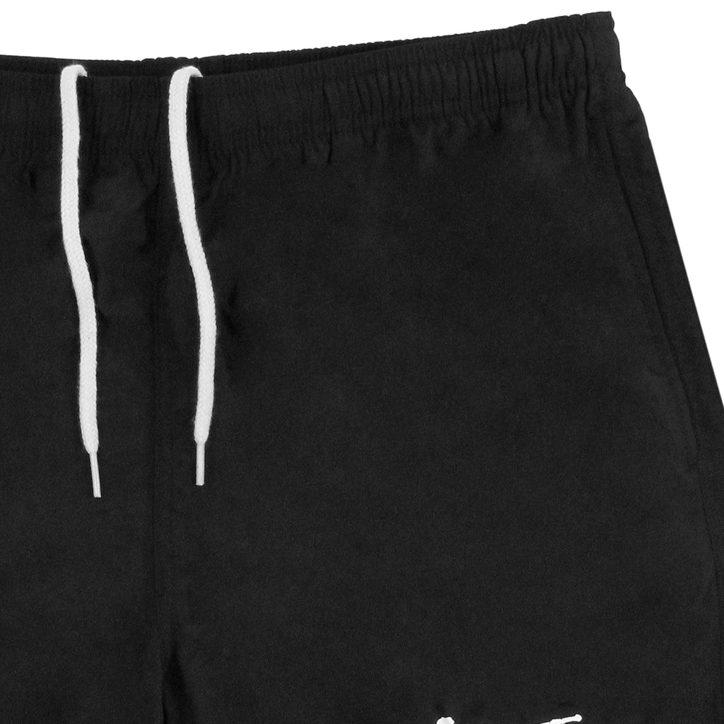 Stussy Stock Elastic Waist Trunk Shorts in Black - Detail