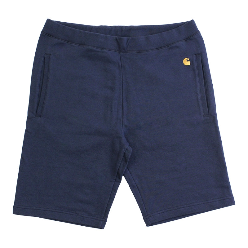 Carhartt Chase Sweat Shorts in Colony
