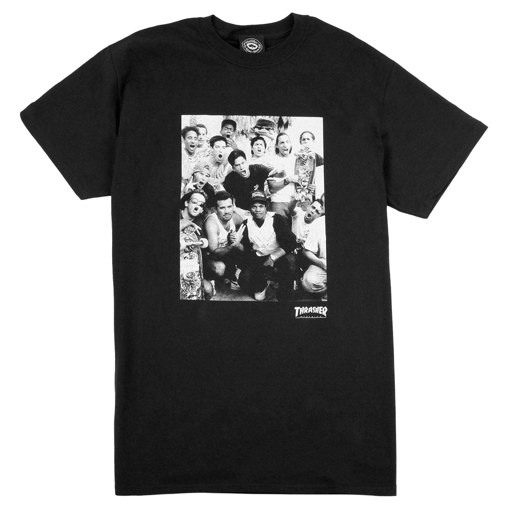 Thrasher Venice T Shirt in Black