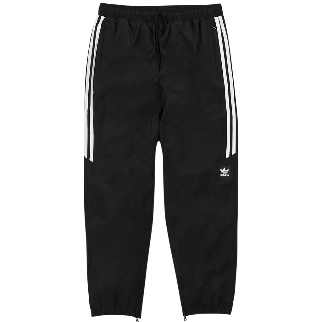 9bb6172bd4ba Classic Wind Pants in Black   White by Adidas Skateboarding