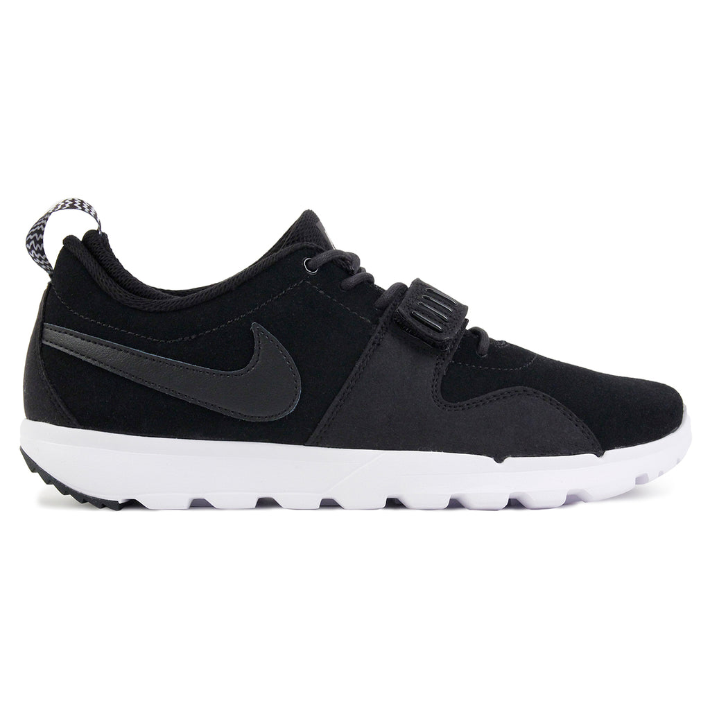 Nike SB Trainerendor L Shoes in Black / Black-White