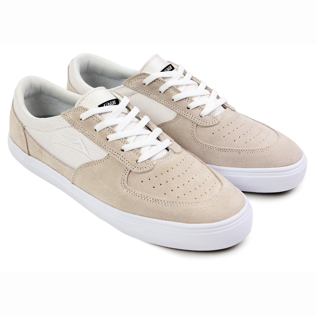 Lakai Parker Chalk Pack Shoes in White - Pair