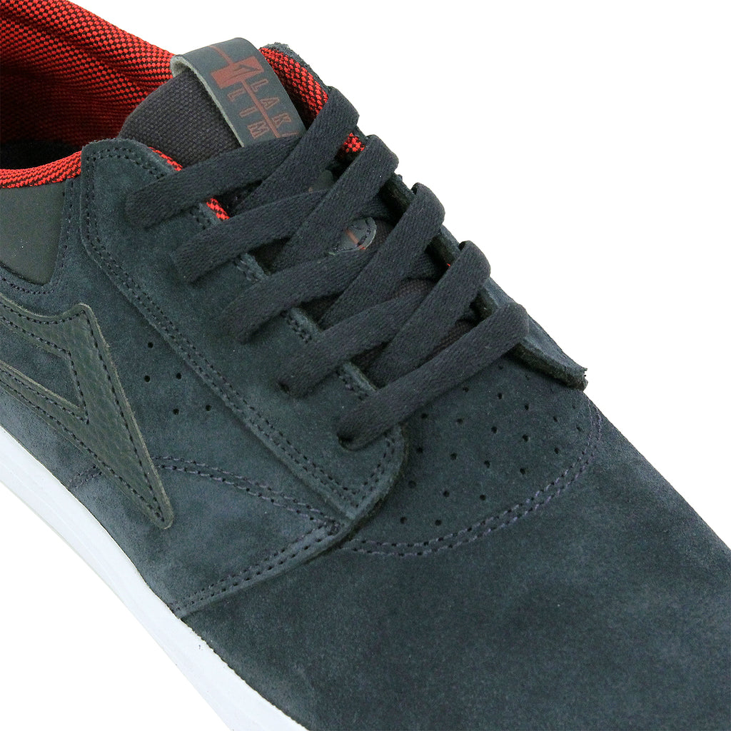Lakai Griffin Suede Shoes in Midnight - Detail