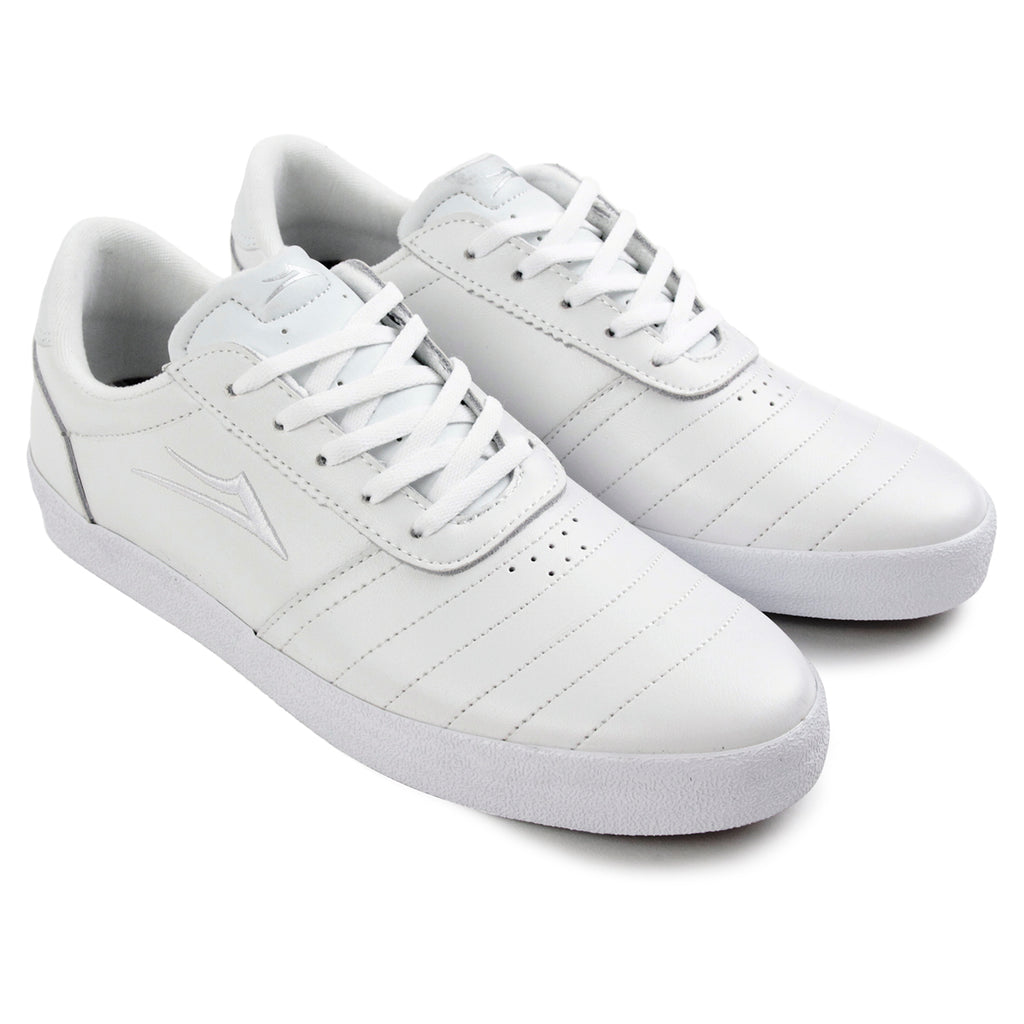 Lakai Anchor Salford Shoes - White Leather