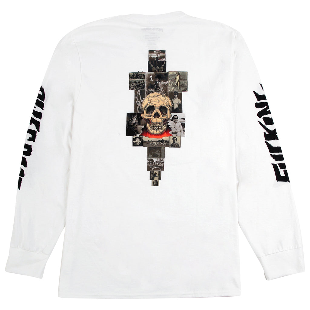 Fucking Awesome KB Collage L/S Shirt in White - Back