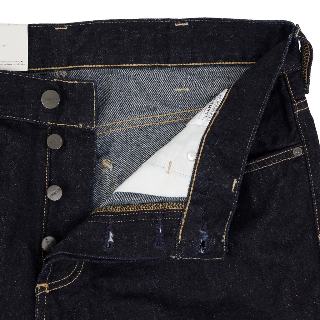 Carhartt Marlow Pant Jeans in Blue Rinsed - Unbuttoned