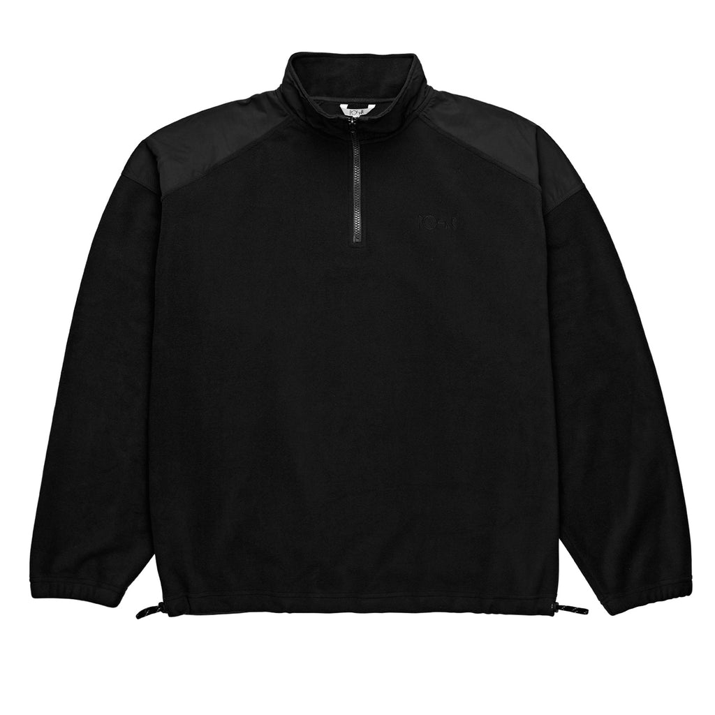Polar Skate Co Light Fleece Pullover in Black
