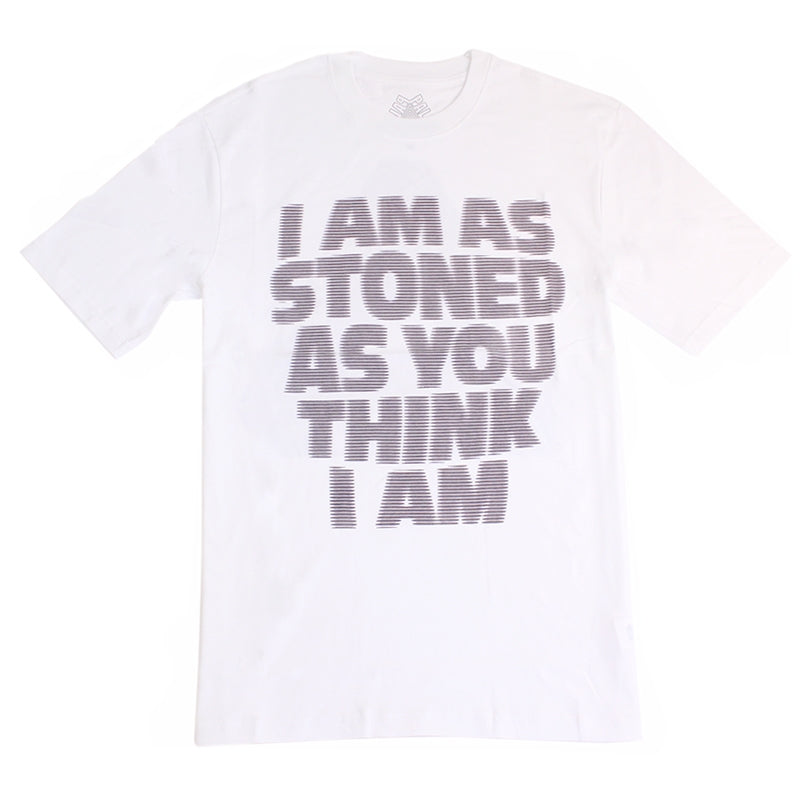 Palace I Am As Stoned T Shirt in White